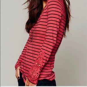 FP Crochet Cuff Top